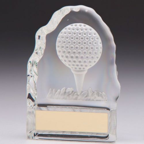 Challenger Golf Crystal Award 110mm